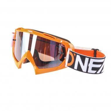 Masque O'NEAL B-10 TWOFACE Orange/Noir/Blanc Mirror