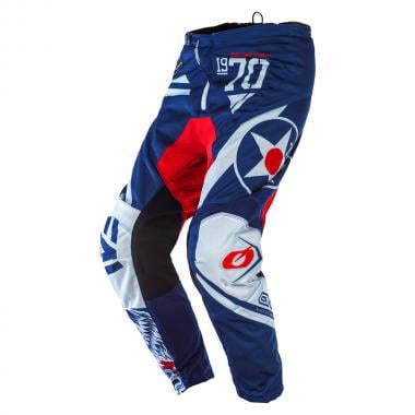 Pantalon O'NEAL ELEMENT WARHAWK Bleu/Rouge 2020