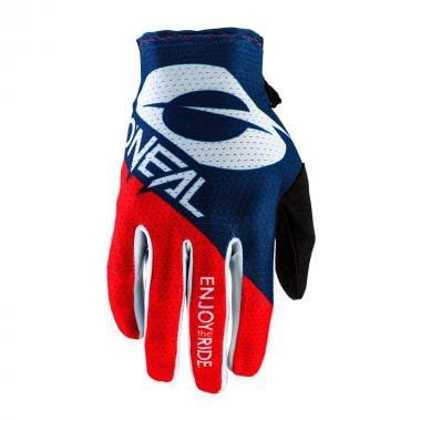 Gants O'NEAL MATRIX STACKED Bleu/Rouge