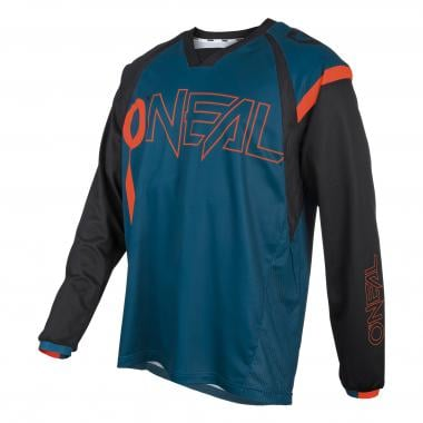 Maillot O'NEAL ELEMENT FR HYBRID Manches Longues Bleu/Orange 2021