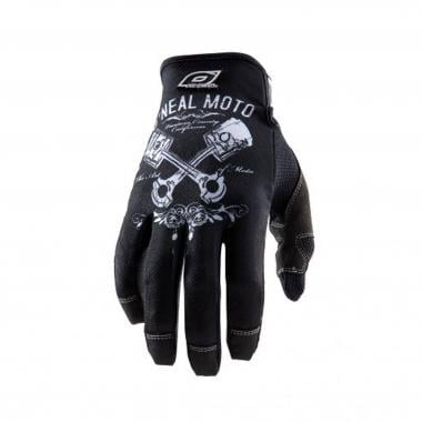 Guantes O NEAL JUMP PISTONS Negro/Blanco