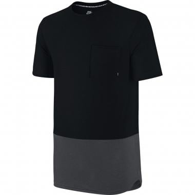 T-Shirt NIKE SB DRI-FIT POCKET Nero/Grigio 2016
