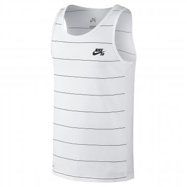 Camiseta de tirantes NIKE SB DRI-FIT YARN DYE Blanco 2016