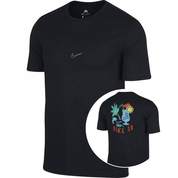 quality design 972ee b70d8 NIKE SB DRY T-Shirt Black 2018
