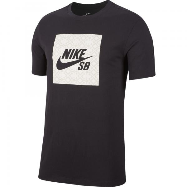 Antemano Virgen Ambos  NIKE SB LOGO NOMAD T-Shirt Black 2019 - Probikeshop