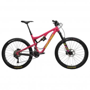 "Mountain Bike SANTA CRUZ BRONSON 2 Carbono CC 27,5"" XT AM Magenta/Amarillo 2016"