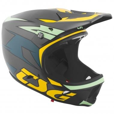 Casco TSG ADVANCE GRAPHIC DESIGN Azul/Amarillo