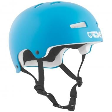 Casco TSG EVOLUTION SOLID COLOR SATIN Bambino Ciano