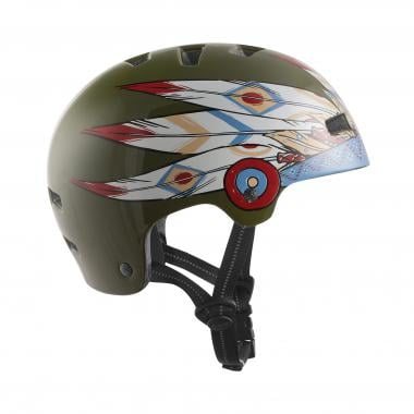 Casque TSG NIPPER MAXI GRAPHIC DESIGN CHIEF Olive/Multicolore