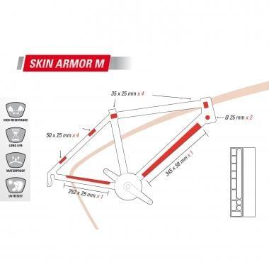 Adesivo de Proteção para Quadro ZEFAL SKIN ARMOR M