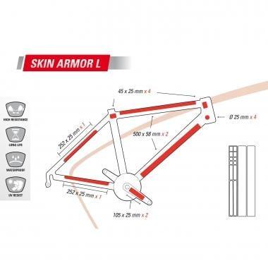 Protection Adhésive pour Cadre ZEFAL SKIN ARMOR L