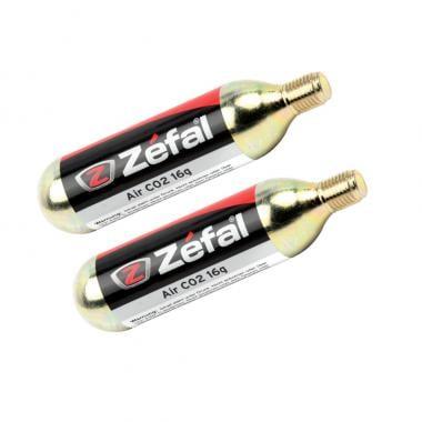 Cartouche CO2 ZEFAL Filetée 16 g (x2)