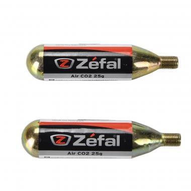 Cartuccia CO2 ZEFAL Filettata 25 g (x2)