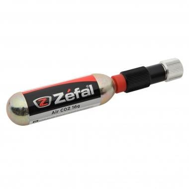 Pompa CO2  ZEFAL EZ CONTROL + Cartuccia CO2 Filettata 16 g (x1)
