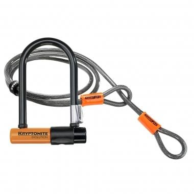Antirrobo en U + cable KRYPTONITE EVOLUTION MINI 7 U-LOCK + 4' FLEX