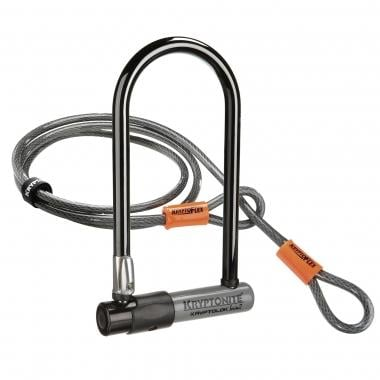 Antirrobo en U + cable KRYPTONITE KRYPTOLOK SERIES 2 STD U-LOCK + 4' FLEX