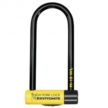 Antifurto U KRYPTONITE NEW YORK U-LOCK M18-WL 10,2 x 26,1 cm