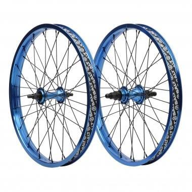 Par de rodas + corrente SALT VALLON Azul