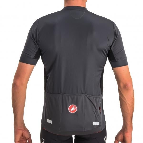 CASTELLI IMPREVISTO NANO Short-Sleeved Jersey Grey 2016 - Probikeshop 09050d3c4