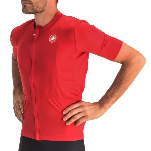 CASTELLI IMPREVISTO NANO Short-Sleeved Jersey Red 2016 - Probikeshop 74f6b76fa