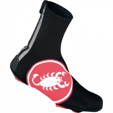 Couvre-Chaussures CASTELLI DILUVIO 16 Scorpion Rouge