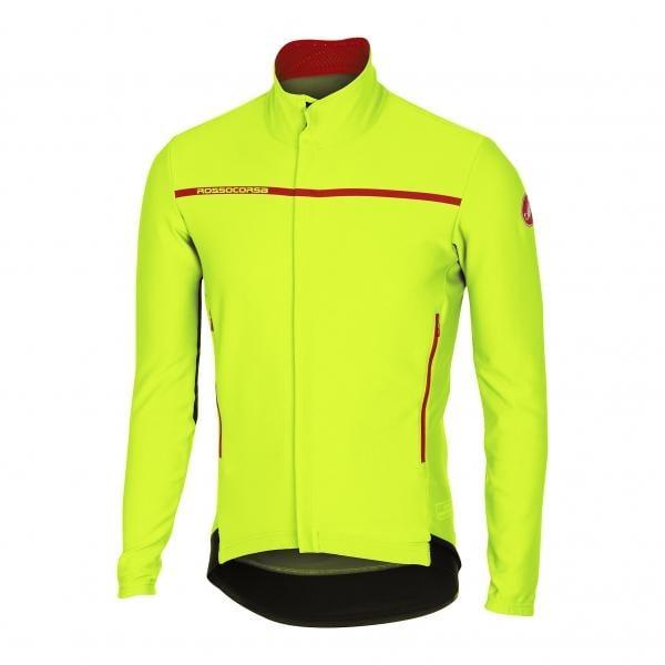 Veste jaune fluo cycliste