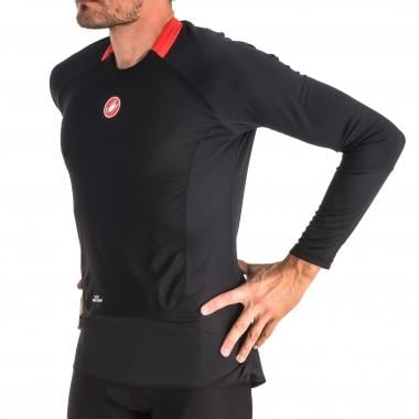 CASTELLI PROSECCO WIND Long-Sleeved T-Shirt Black 2016