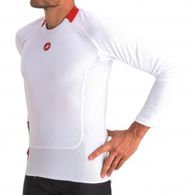 Maillot de Corps CASTELLI PROSECCO Manches Longues Blanc