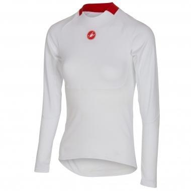 T-Shirt CASTELLI PROSECCO Donna Maniche Lunghe Bianco