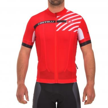 Maillot CASTELLI FREE AR 4.1 Manches Courtes Rouge 2017