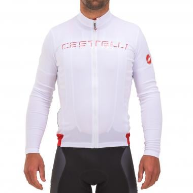 Maillot CASTELLI PROLOGO V Manches Longues Blanc 2017