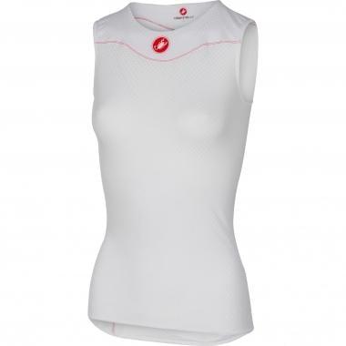 Camiseta de tirantes CASTELLI PRO ISSUE Mujer Blanco 2017