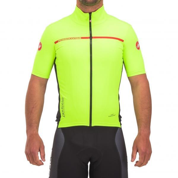 CASTELLI PERFETTO LIGHT 2 Short-Sleeved Jersey Neon Yellow 2017 ... 11a4eb758