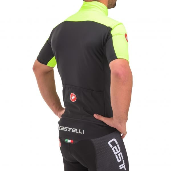 CASTELLI PERFETTO LIGHT 2 Short-Sleeved Jersey Neon Yellow 2017 -  Probikeshop 463be8a7d