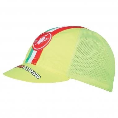 Berretto CASTELLI PERFORMANCE CYCLING Giallo Fluo 2017
