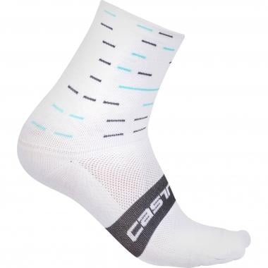 Chaussettes CASTELLI TEAM SKY ROSSO CORSA 10 Blanc 2017