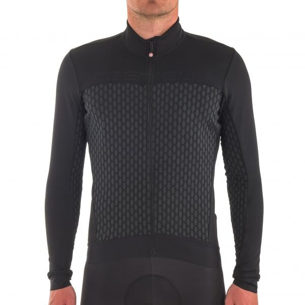 CASTELLI SFIDA FZ Long-Sleeved Jersey Grey Anthracite Black 2017 ... 50e9d13b4