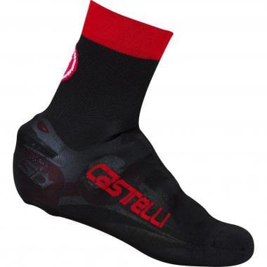 Couvre-Chaussures CASTELLI BELGIAN BOOTIE 5 Noir/Rouge
