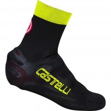 Couvre-Chaussures CASTELLI BELGIAN BOOTIE 5 Noir/Jaune Fluo