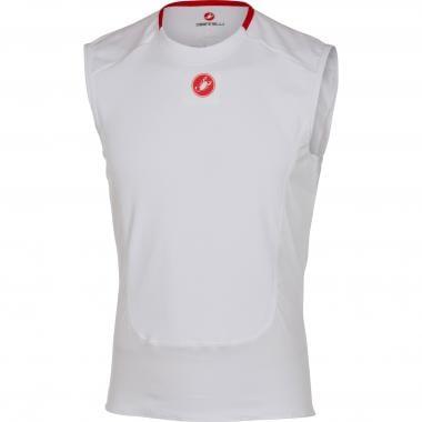 Sous-Vêtement Technique CASTELLI PROSECCO Sans Manches Blanc