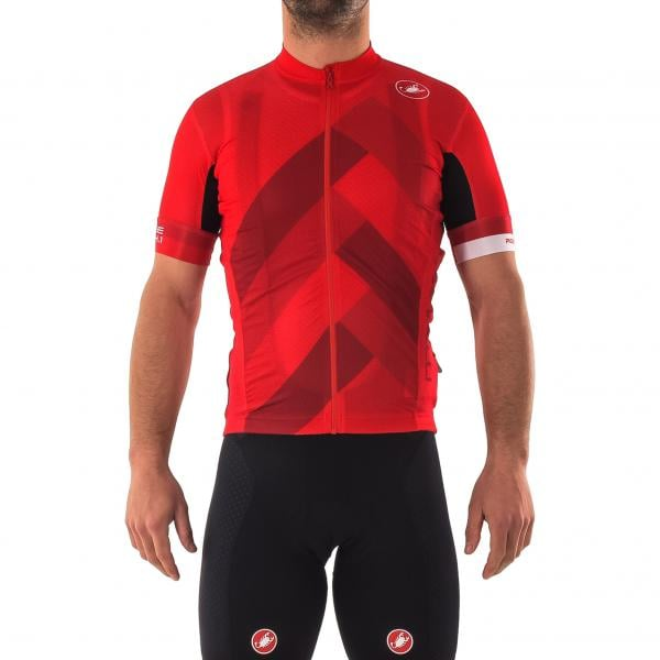 CASTELLI FREE AR 4.1 Short-Sleeved Jersey Red 2018 - Probikeshop d50990197