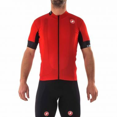 2eafaab0a CASTELLI AERO RACE 4.1 SOLID Short-Sleeved Jersey Red 2018