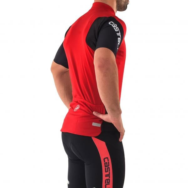 CASTELLI ENTRATA 3 Short-Sleeved Jersey Red 2018 - Probikeshop 66944a814