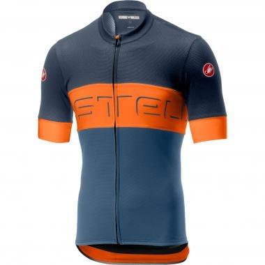 CASTELLI PROLOGO VI Short-Sleeved Jersey Blue Orange 2019 9652866b5