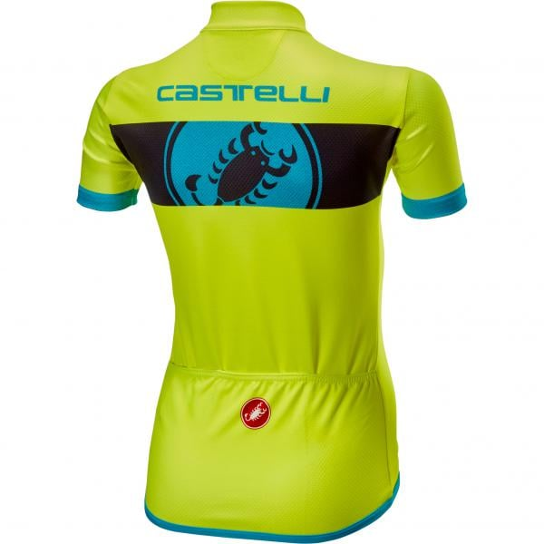 CASTELLI FUTURE RACER Kids Jersey Yellow 2019 - Probikeshop ec2dfff60
