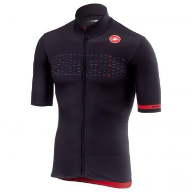 Maillot CASTELLI MID WEIGHT Manches Courtes Noir 2019