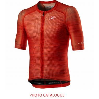 CDA - Maillot CASTELLI CLIMBER'S 3.0 Manches Courtes Rouge 2021 - Taille M