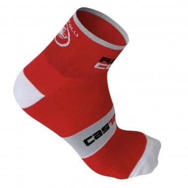 Calcetines CASTELLI ROSSO CORSA 6 Rojo