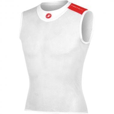 T-Shirt CASTELLI CORE MESH Sans Manche Blanc