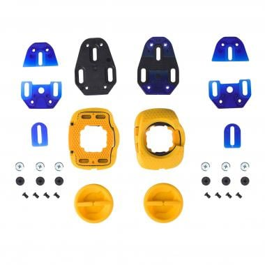 Kit de Cales pour Pédales SPEEDPLAY ZERO WALKABLE Jaune